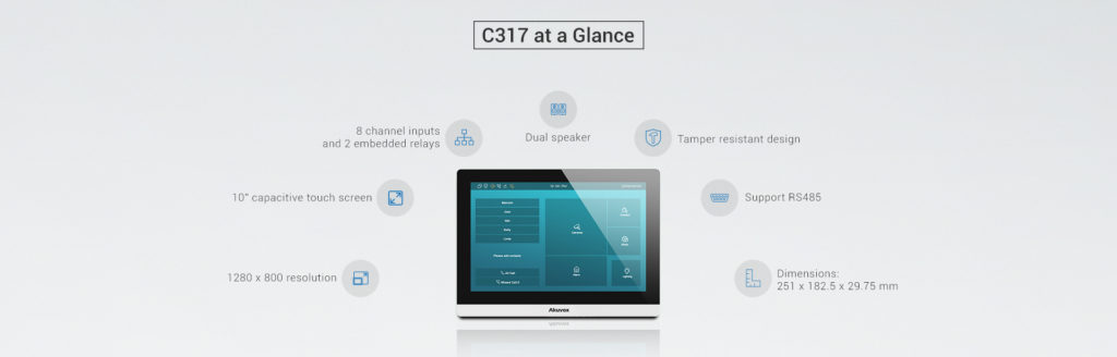 C317 Indoor Monitor Specially Designed for the Elderly